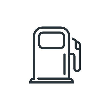 Fuel Pump Flat icon vector