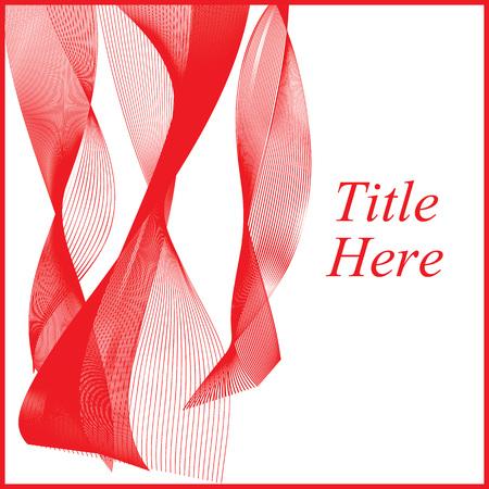 cortinas rojas: Red efecto art�stico. Presentaci�n background.Flying cortinas rojas. Vectores