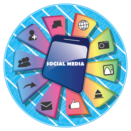 delivers: Info graphic. Social media in any mediaphone, pc, or tablet delivers the favourite and best time for any person.Here are some of the features.