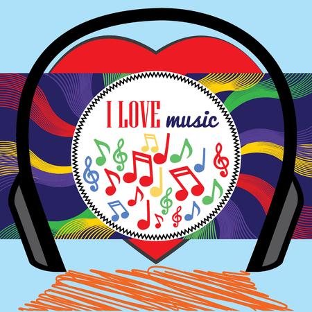 heart sounds: I love music