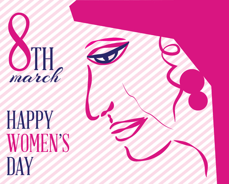 earing: Happy international womens day to all the ladies.A special day.