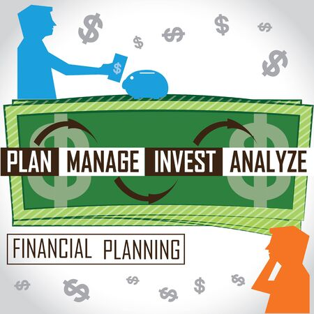 circumstances: If we have budget to our expenses, we need financial planning. The cycle and the circumstances are mentioned in the illustration. Illustration