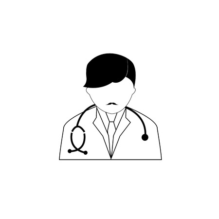 patients: simple, patients, support, treat, treatment, medication, medicines, surgery, appointment, uniform, practice, perform, heal, inject, prescribe, man, male, isolated, medical, medicine, vector, symbol, icon, stethoscope, hospital, doctor, care, health, perso