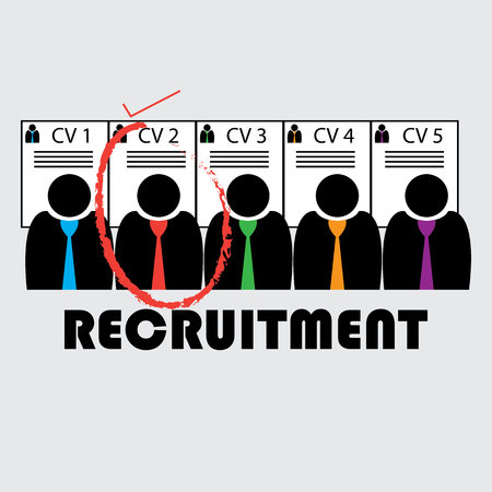 Selecting a candidate and recruiting for a firm