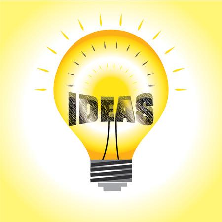 abstracte ideen verlichting grafische vector helder in gloeilamp stockfoto 77831315