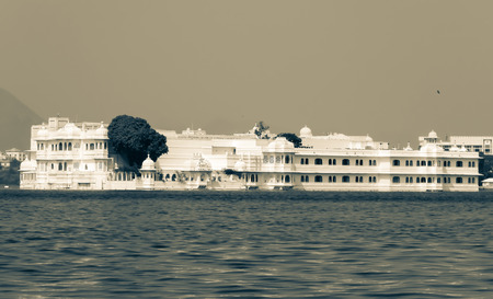 Lake palace view in Udaipur, Rajasthan
