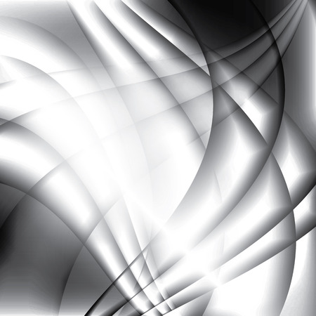 Elegant waves passing all the way forming monochromatic stylish trendy background