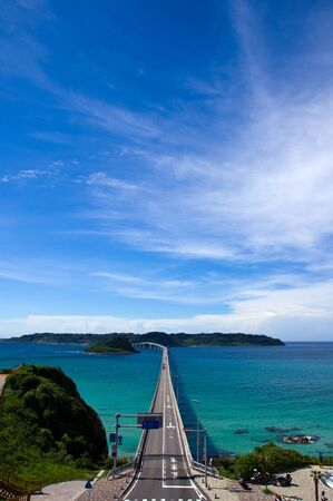 Sea and bridge of summer Stock Photo - 16732605