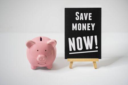Saving Money For Future Concept.