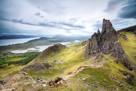 scotland: The Storr, Isle of Skye, Scotland