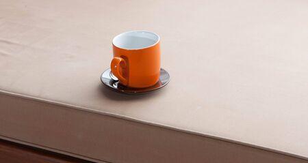 non alcoholic beverage: orange cup