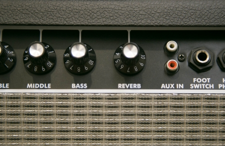 Amplifier button photo