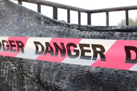 Danger red tape