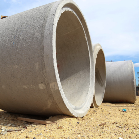 New concrete tube photo
