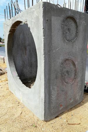 New concrete tube photo