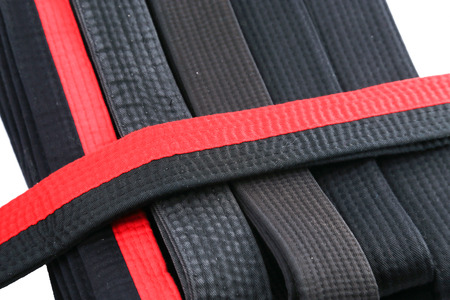 bushido: black belt Stock Photo