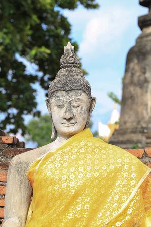 godhead: Ancient Buddha Stock Photo