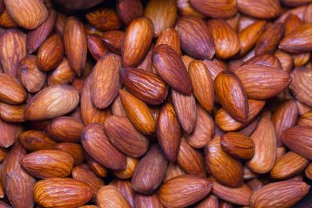 Roasted almond Banco de Imagens