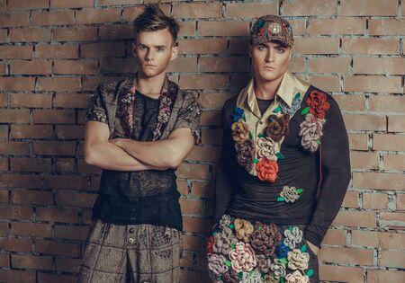 Fashion collection of designer Vladislav Aksenov, 2015, Russia Éditoriale