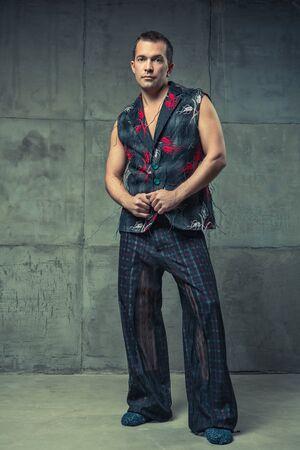 Fashion collection of designer Vladislav Aksenov, 2015, Russia