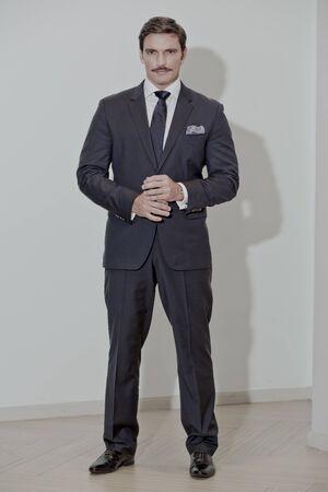 Famous Latin American actor Julian Gil on the set of Loki 7, casino, Santo Domingo, Dominican Republic, 2016
