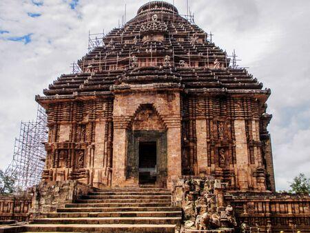 Konark Sun Temple is a 13th-century CE Sun Temple built by king Narasimhadeva at Konark in Odisha, India.