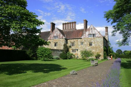 house gables: Stately home of england