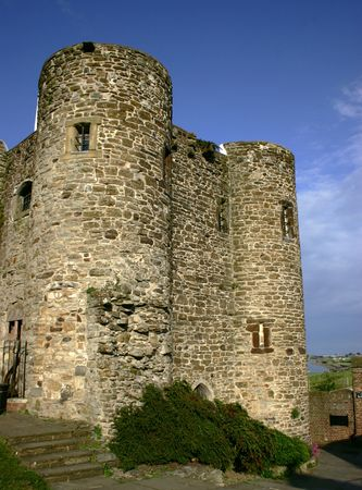 bowman: Norman castle turret in southern england