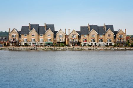 quayside: Quayside development in England Stock Photo