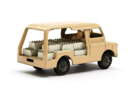 milkman: English Milk Float van scale model