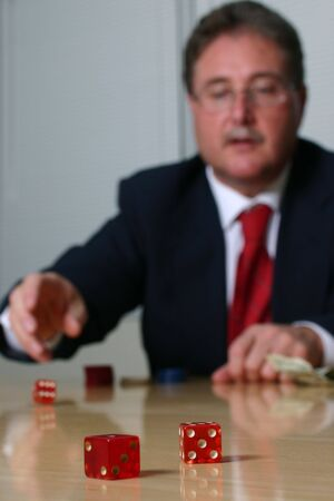 business is a gamble series #2 Stock Photo - 259212