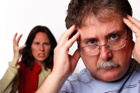 Kopfschmerzen Lizenzfreie Bilder
