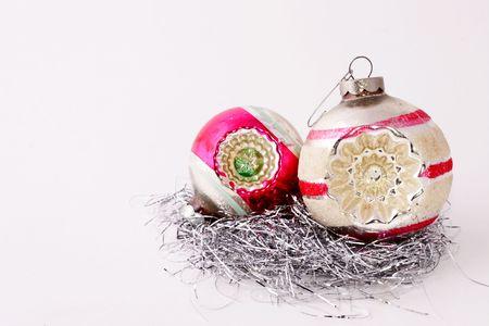 Vintage Weihnachten Ornamente