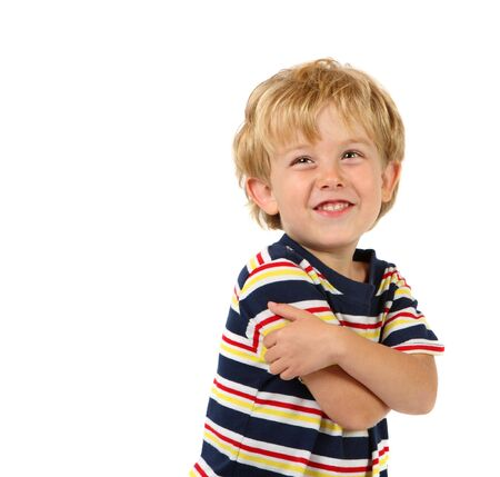 a young boy smiles at the camera Stock Photo - 2802258