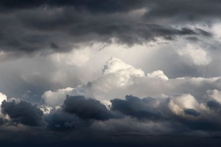 forcast: Multiple layers of ominous storm clouds