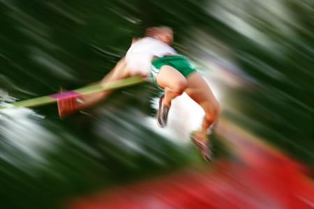 alto rendimiento: Motion blur de un puente elevado que en el bar