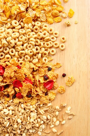 A variety of Breakfast Cereals Stock Photo - 4051689