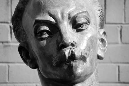 national poet: Jose Marti Perez  1853-1895  - National hero of the republic of Cuba  Lawyer, teacher, journalist, politician, writer and poet  Inspired the moncada barracks attack of July 26, 1953  Jose Marti embodied the dream and struggle for a unified latin america   Stock Photo