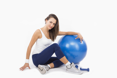 Female working out Stock Photo - 23353953