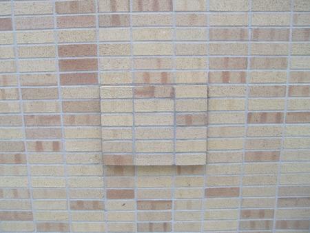 Tan brick wall Reklamní fotografie