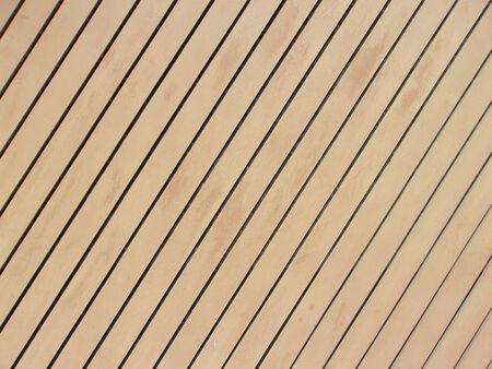 Diagonal wooden paneling Banque d'images
