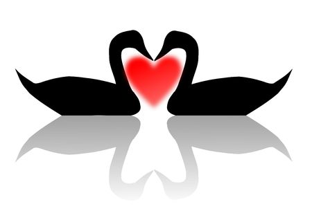 jpeg image from svg vector. Card for valentine day. Stock Photo - 2379743