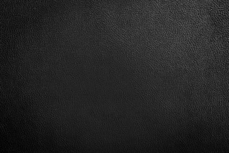黒い革テクスチャ背景 写真素材