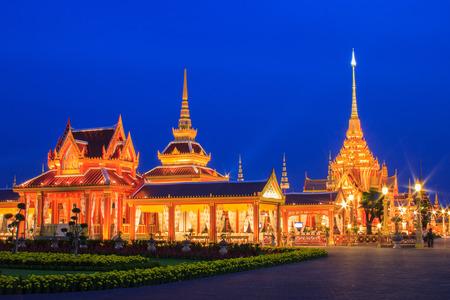 crematorium: Phra Meru, Thai Royal Crematorium, Bangkok, Thailand,