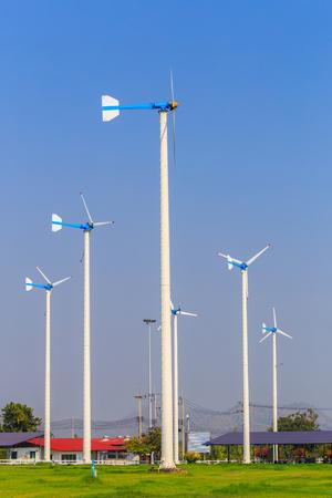 wind force wheel: wind turbines