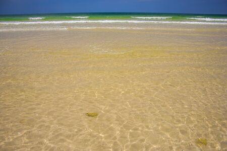 similan: Crystal clear sea of tropical island, Similan, Thailand Stock Photo