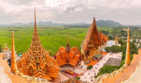 sua: Wat tham sua in Kanchanaburi Thailand Editorial