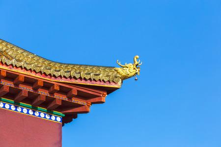Beautiful architecture china's style 版權商用圖片 - 58188275