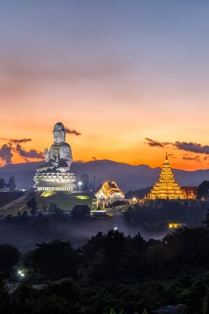 Wat Huay Pla Kang, Chinese temple in Chiang Rai Province, Thailand
