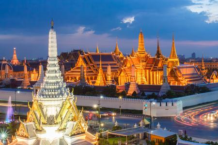 ワット ・ プラケーオ、ミステリー時間、美しいタイのランドマーク バンコクで壮大な宮殿
